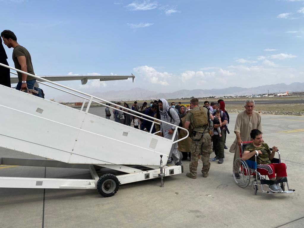 Ark Salus Rescue Mission In Afghanistan
