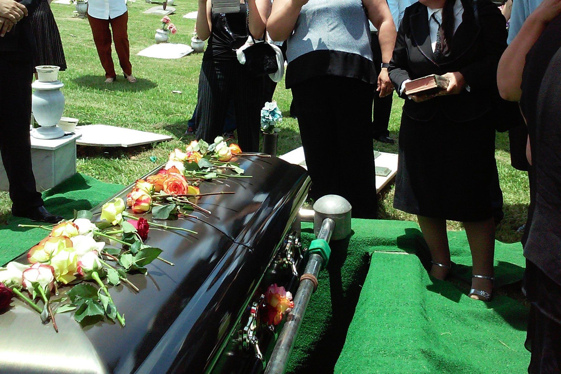 Casket and Burial Plot