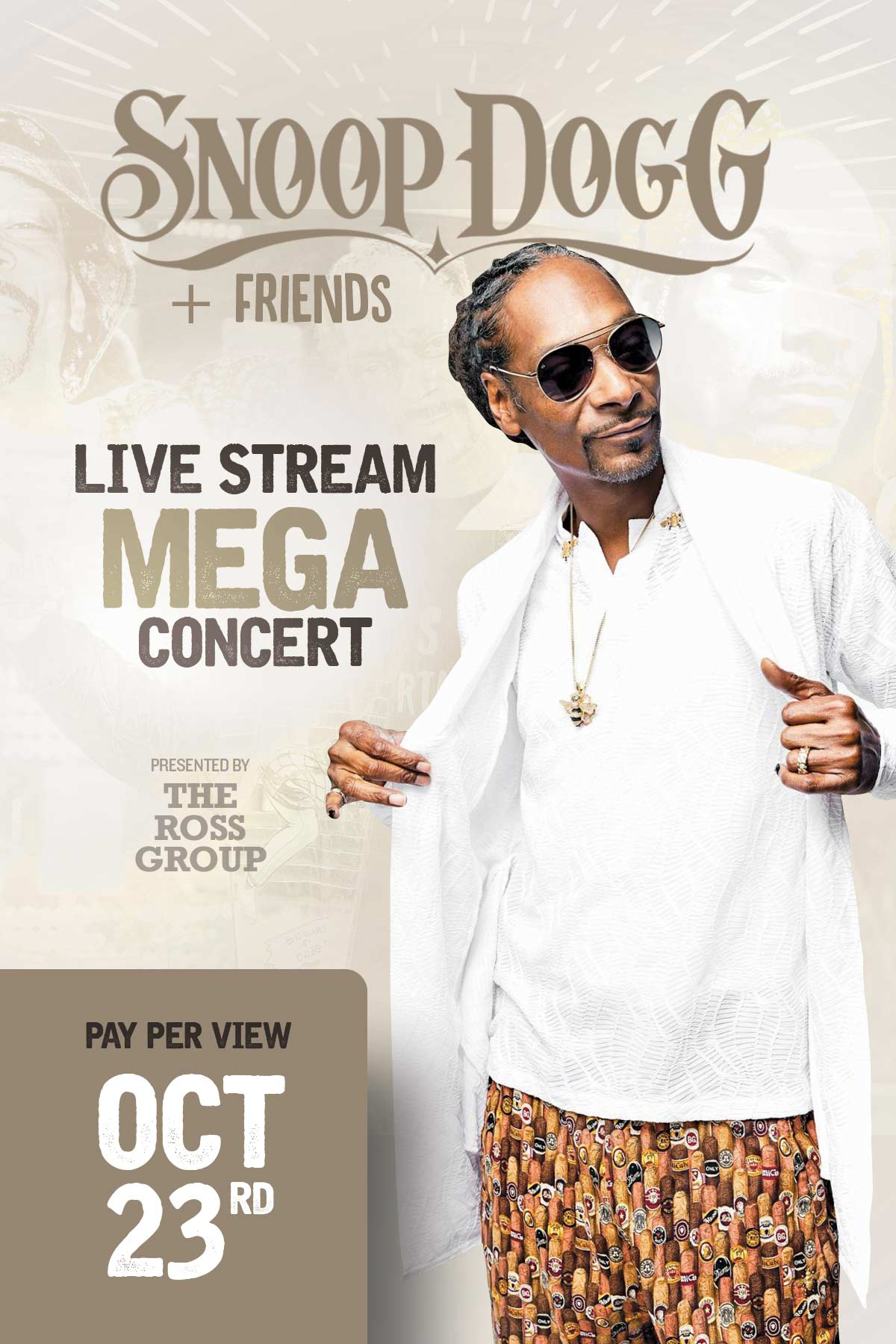 Snoop Dogg and Friends Mega Concert Live on PayPerView