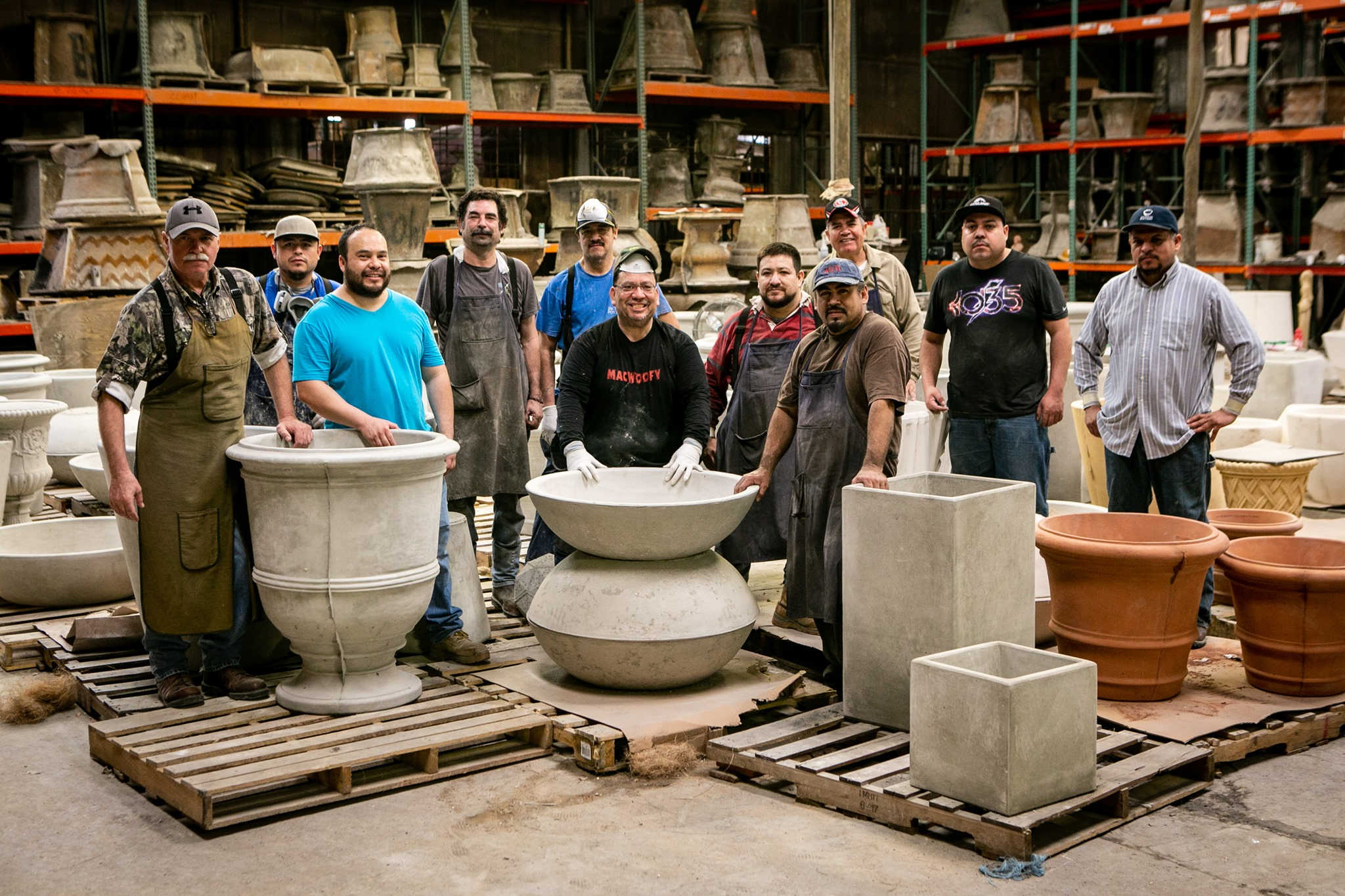 Jackson Cast Stone products are hand crafted and made in the USA